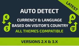 AutoDetect Currency and Language