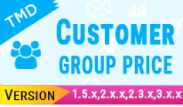 Customer Group Price (1.5.x , 2.x & 3.x)