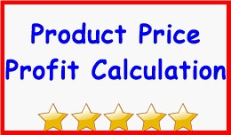 Product Price Profit Calculation
