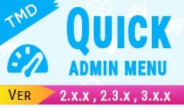 Quick Admin Menu