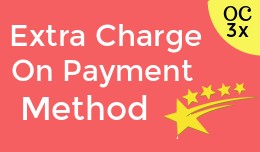Extra Charge on payment method OC3x