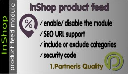 Inshop.lv Product Feed for OpenCart 3.x