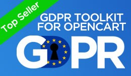 GDPR Toolkit for Opencart