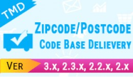 Zipcode/Postcode/COD based on Delivery