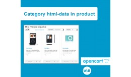 Category html-data in product