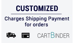 Add Customized total shipping and payment from a..