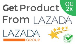 Get Product from lazada OC2x