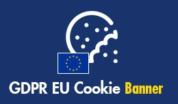 GDPR EU Cookie Compliance Banner