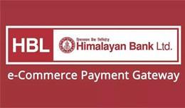 Himalayan Bank Payment Gateway (HBL)