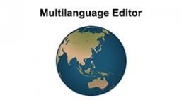 Multilanguage Editor