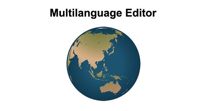 Multilanguage Editor (Translate Helper)