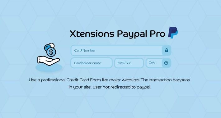 Xtensions Best Paypal pro