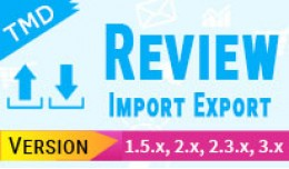 import and export Product Review (1.5.x , 2.x &a..