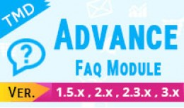 Advance FAQ Module (1.5.x , 2.x & 3.x )