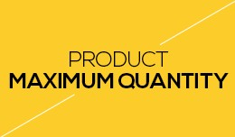 Product Maximum Quantity