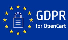 GDPR for OpenCart 3xxx