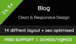 Blog - Clean and responsive design