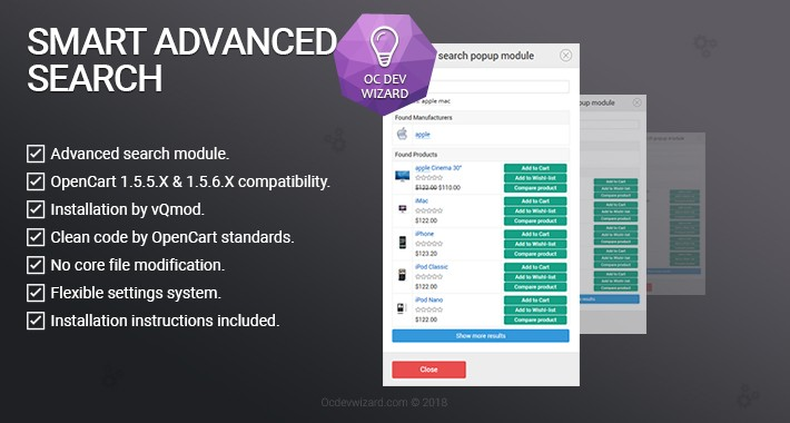Smart Advanced Search