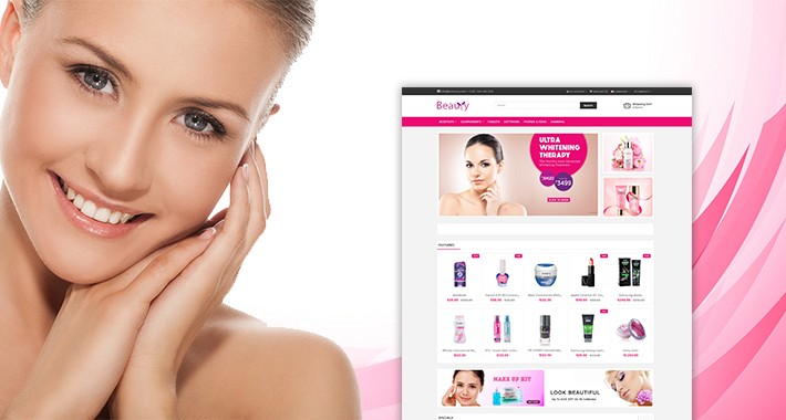 Beauty OpenCart 3.x Website Theme (Beauty, Cosmetic, Spa)