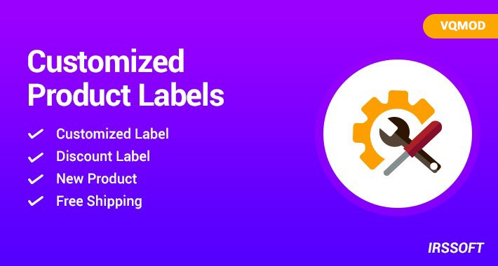 Product Labels(vqmod)