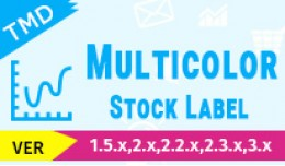 Multicolor Stock label(1.5.x , 2.x & 3.x)