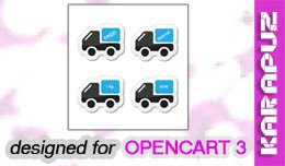 Custom Shipping Methods (for Opencart 3)