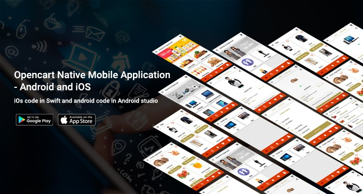Opencart Native Mobile Application - Android and iOS