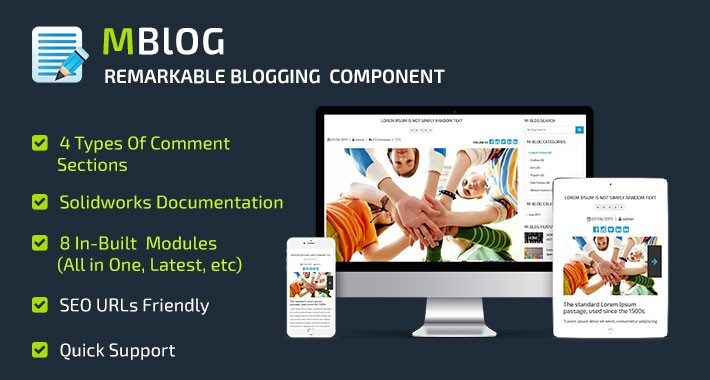 MBlog - Remarkable Blogging Component