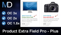 Product Extra Field Pro - Plus