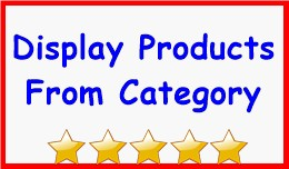 Display Products From Category