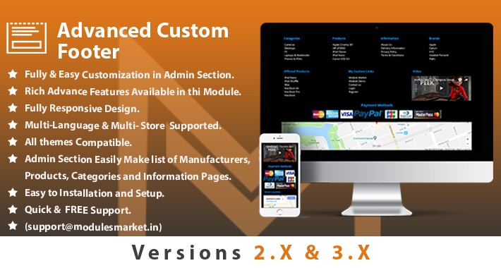 Advance MM Footer (Custom Footer)