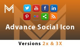 Advance Social Icons