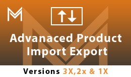 Advanced Product Import  Export