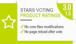 Product stars ratings (OCMod / VQMod  /  jQuery ..