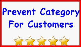 Prevent Category For Customers