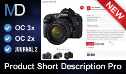 Product Short Description Pro - Journal 2 Theme