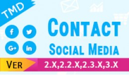 Footer contact and Social media (1.5.x , 2.x &am..