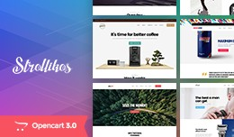 Unique Single Product Opencart Theme - Pav Strol..