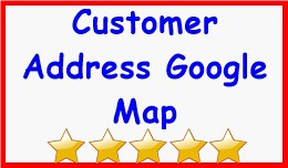 Customer Address Google Map