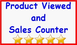 Product Viewed and Sales Counter