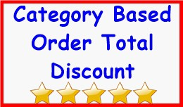 Category Based Order Total Discount