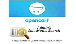Admin's New Order Model Search