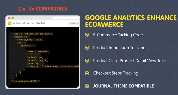 Google Analytics Enhance Ecommerce