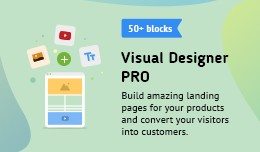 Visual Designer PRO  (The First Page Builder for..