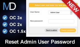 Reset Admin User Password