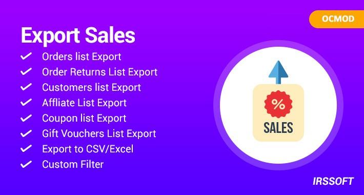 Export Sales (OCMOD)