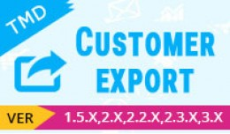 customer export module(1.5.x , 2.x & 3.x)