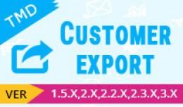 customer export module(1.5.x , 2.x & 3.x)