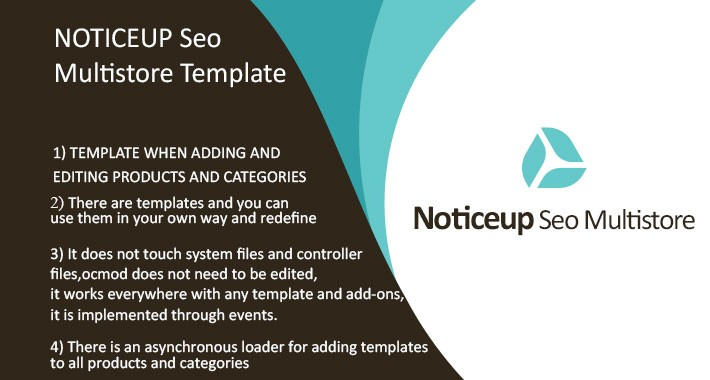 Noticeup SEO Tags Generator for each store