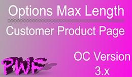 Options Max Length